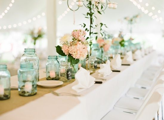Mariage - Mint And Peach Wedding Inspiration