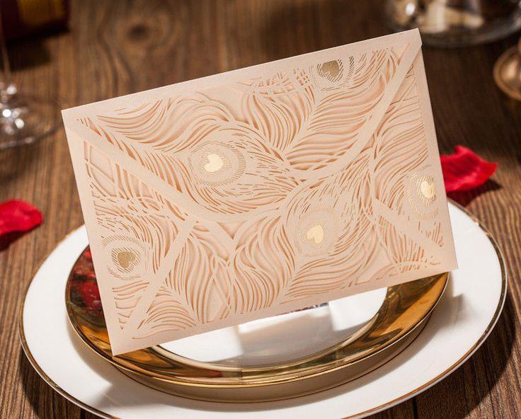 vintage elegant gold wedding invitation cards free envelopes seals