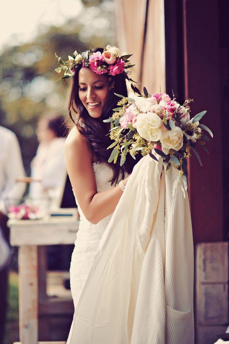 Hochzeit - Boho Chic Maui Wedding