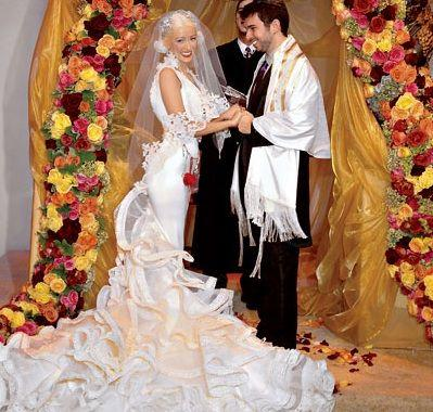 5 ridiculously over the top extravagant celebrity weddings - Top Celebrity Weddings