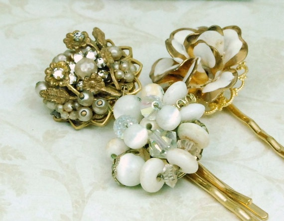 Boda - ♥~•~♥ Wedding ► Hair *•..¸♥☼♥¸.•* And Accesories