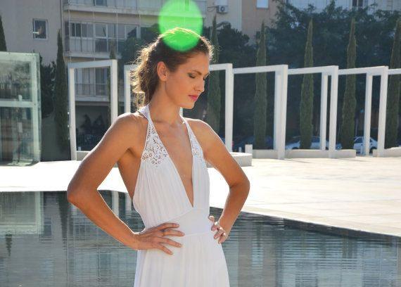 Mariage - Backless Romantic Wedding Dress With Embroidery And Beads Straps