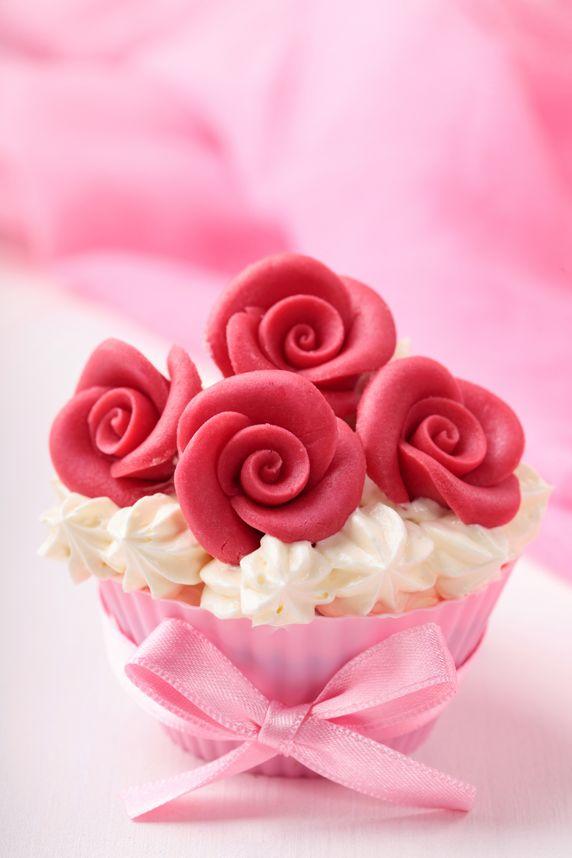Свадьба - Rose Cupcake