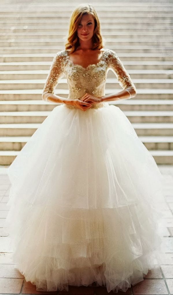 Top 8 Hot Wedding Dresses Styles For Winter Wonderland Weddings ...