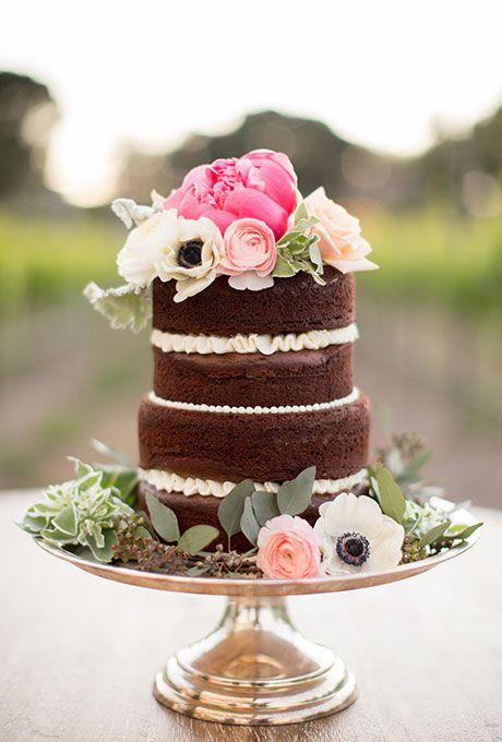 Свадьба - Unfrosted Wedding Cakes
