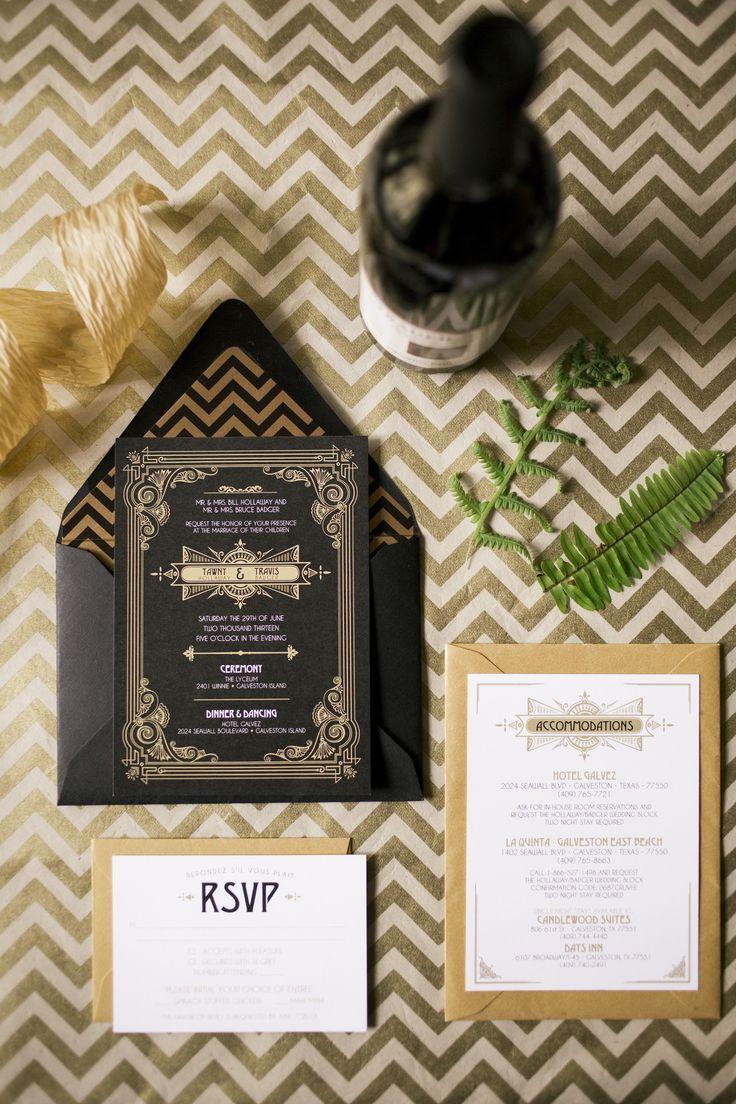 Wedding - Great Gatsby Inspired Galveston Wedding From Mustard Seed Photography
