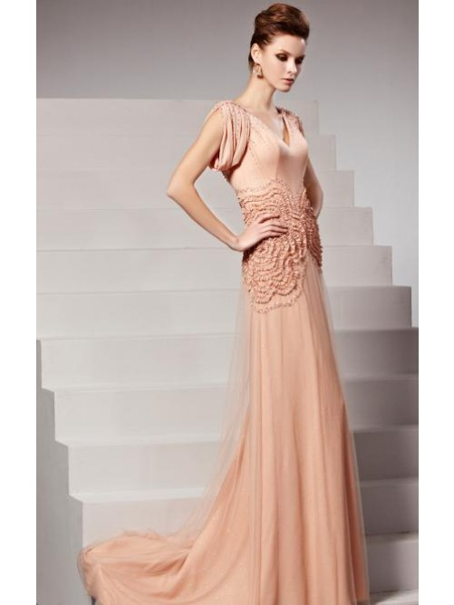 Vintage Wedding - Pink Vintage Evening Dress Sale 2162422 - Weddbook