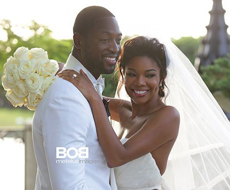 Mariage - Gabrielle Union's Wedding Dress: See Her Just Married Picture With Dwyane Wade