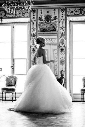 Mariage - Beautiful Photo Of A Princess Wedding Dress.