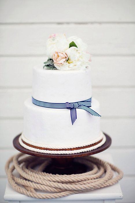 Hochzeit - Nautical Stripes Wedding Inspiration