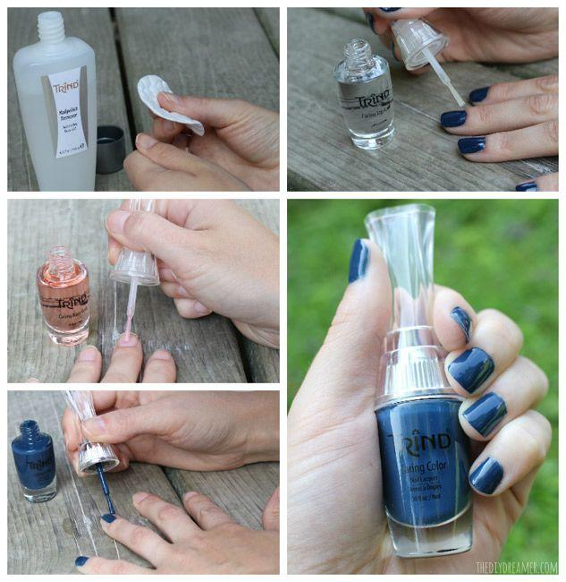Hochzeit - How To Apply Nail Polish - Trind Giveaway -