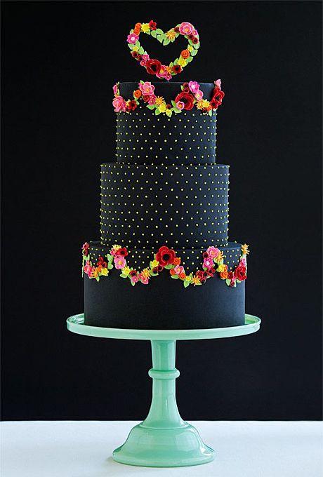 Beautiful Wedding Cake For A Celebration Colourful Wedding Cake Ideas