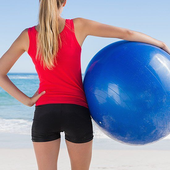 Stability Ball Moves: Tame Back Bulge With 4 Exercise-Ball Moves #2163311