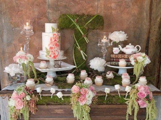 Свадьба - Weddings-Cake Table