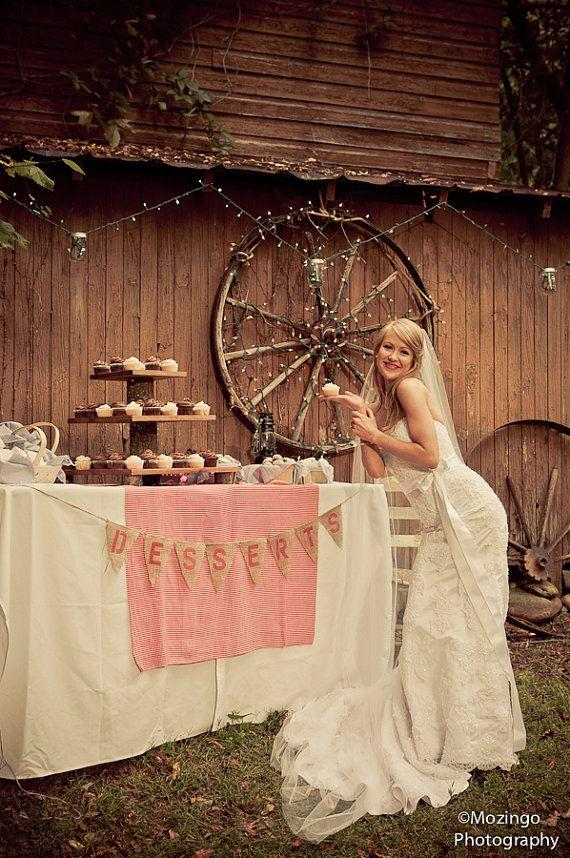 Cupcake Stand Rustic Wedding Log Slice