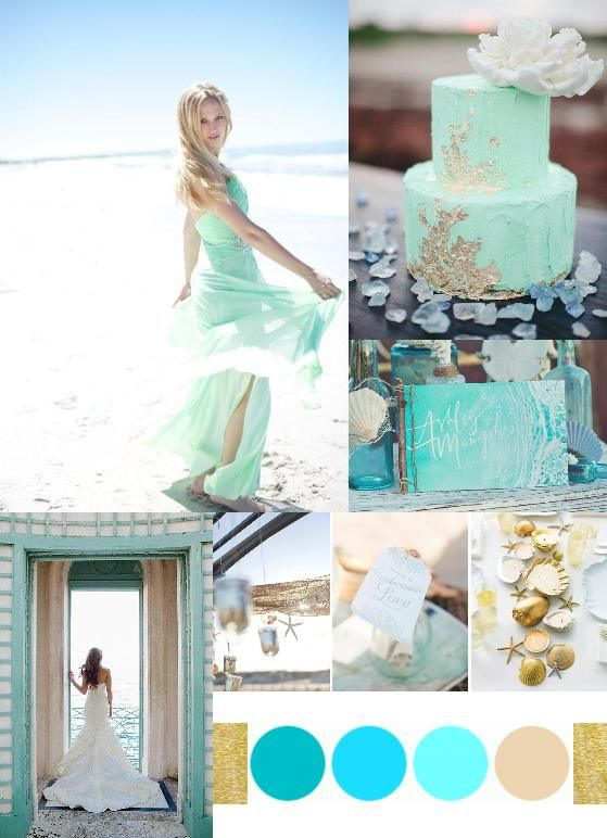 Beach Wedding Palette