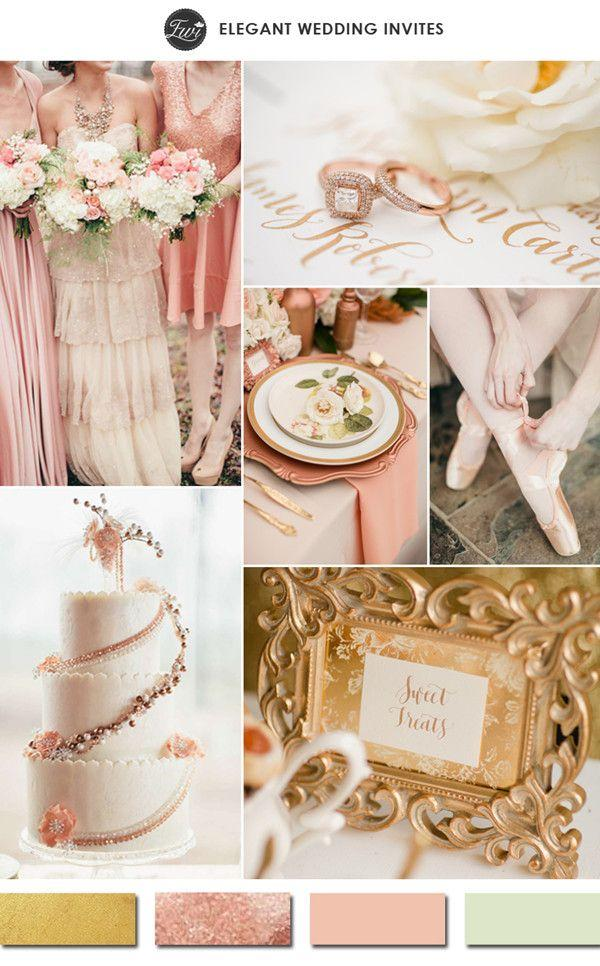 Wedding - 10 Hottest Gold Wedding Color Ideas-2015 Wedding Trends Part ...