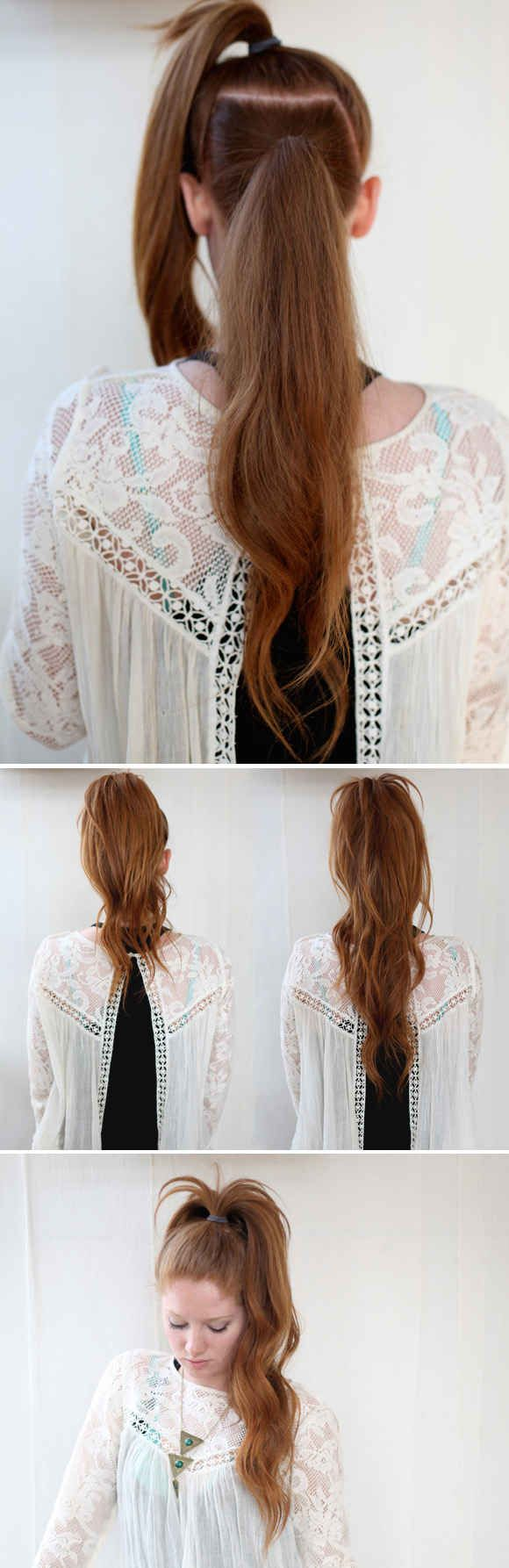 زفاف - 23 Five-Minute Hairstyles For Busy Mornings