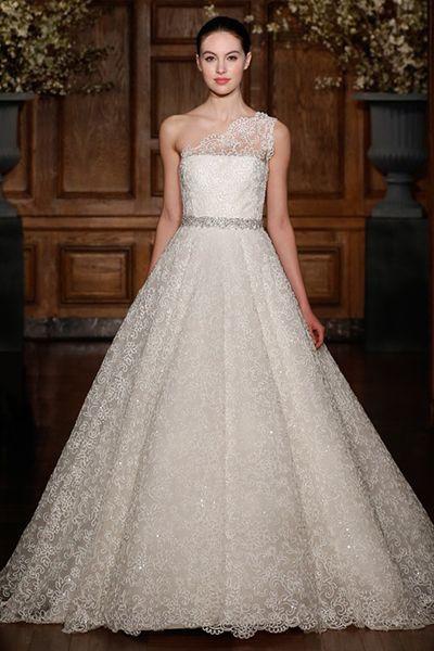 Hochzeit - 40 Winter Wedding Gowns You'll Love