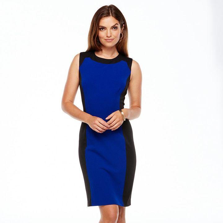 b507745a Chaps Colorblock Sheath Dress - Women's #2164460 - Weddbook