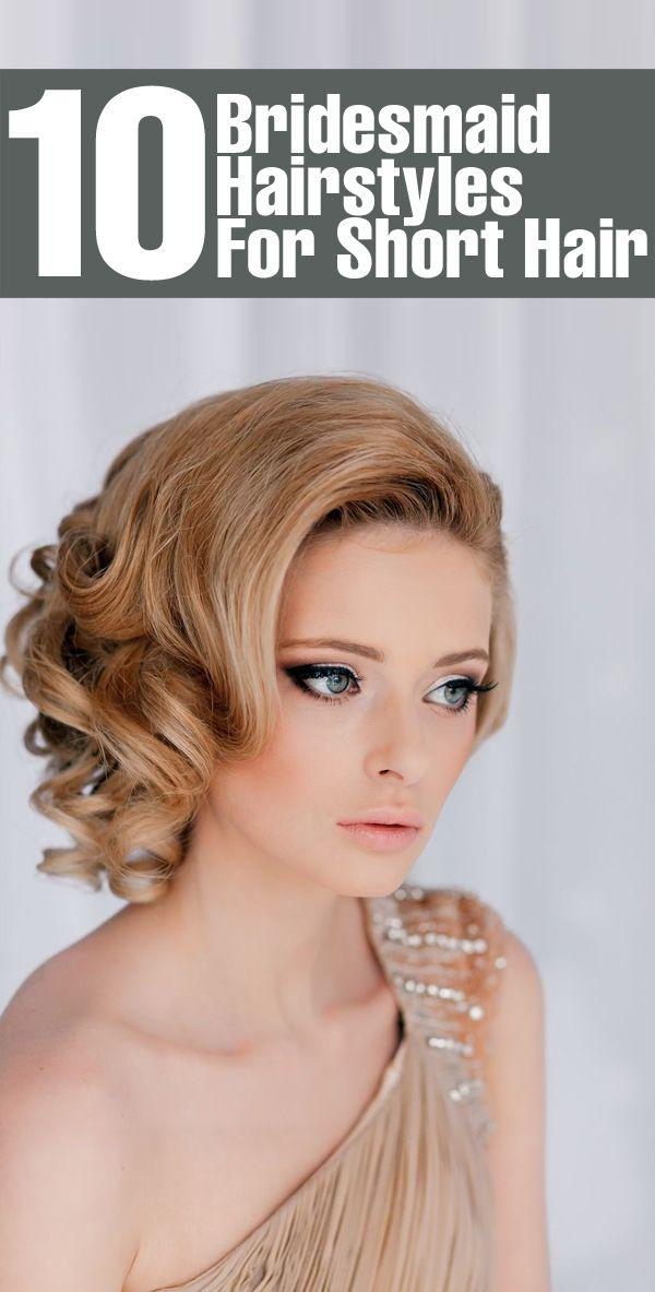 Wondrous Top 10 Bridesmaid Hairstyles For Short Hair 2164710 Weddbook Short Hairstyles Gunalazisus