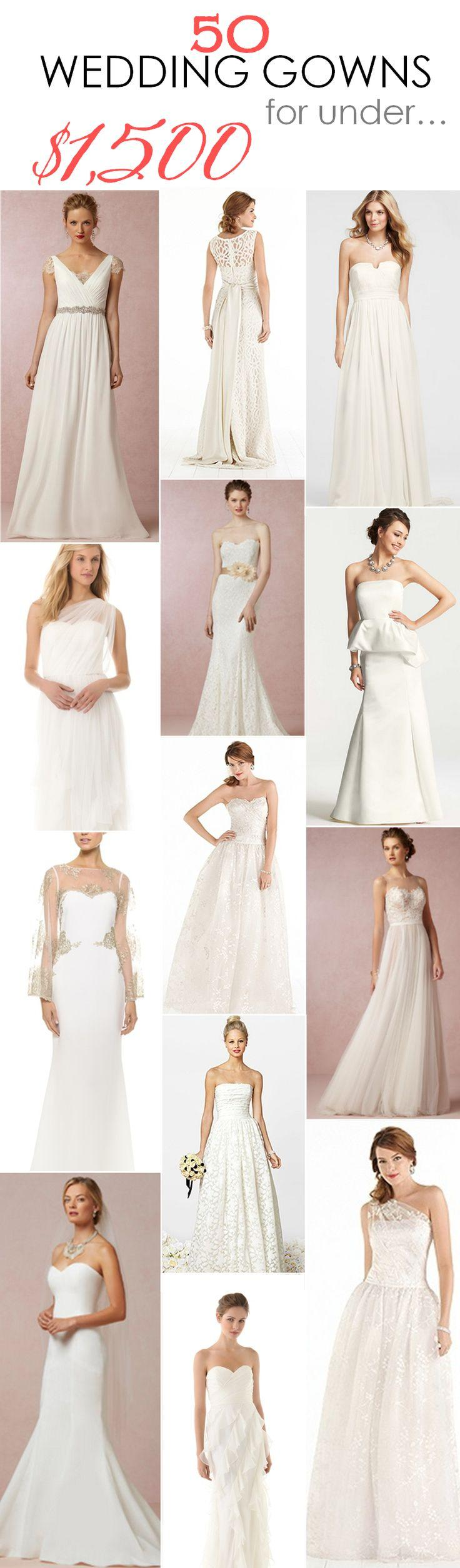 Свадьба - 50 Wedding Gowns For Under $1,500