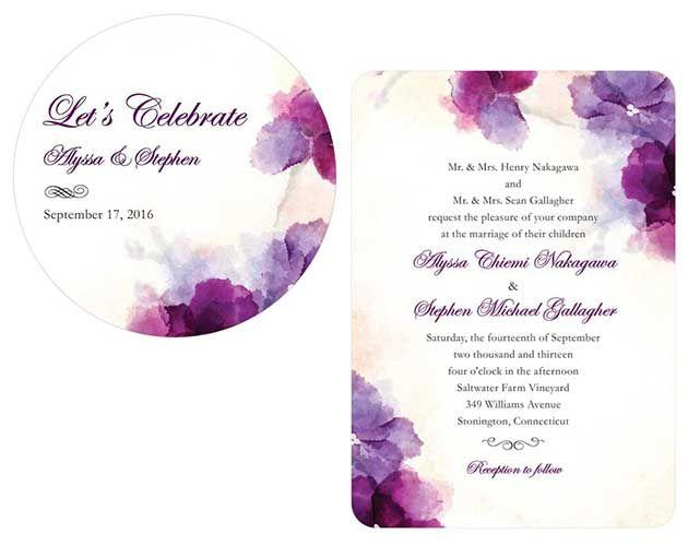 Свадьба - Paper, Invitations, Save-the-Dates, Menu Cards Etc!