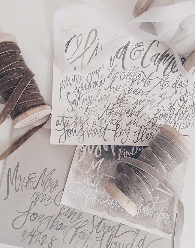 Свадьба - Invites And Paper Elements