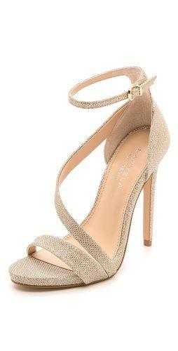 Hochzeit - Gosh Asymmetrical Sandals