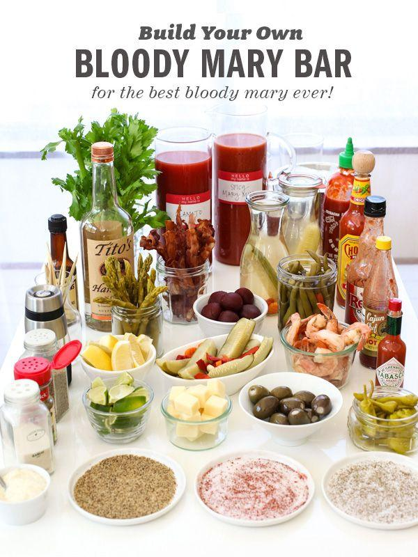 The Best Bloody Mary Recipe And Make Your Own Bloody Mary Bar #2166387 ...