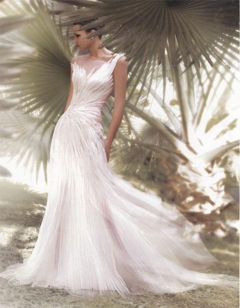 Mariage - One Shoulder Strap Wedding Dress Inspiration