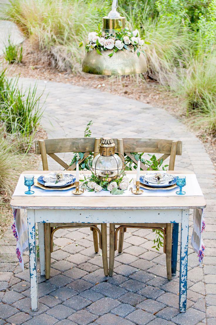Hochzeit - Gilded Nautical Engagement Party Inspiration