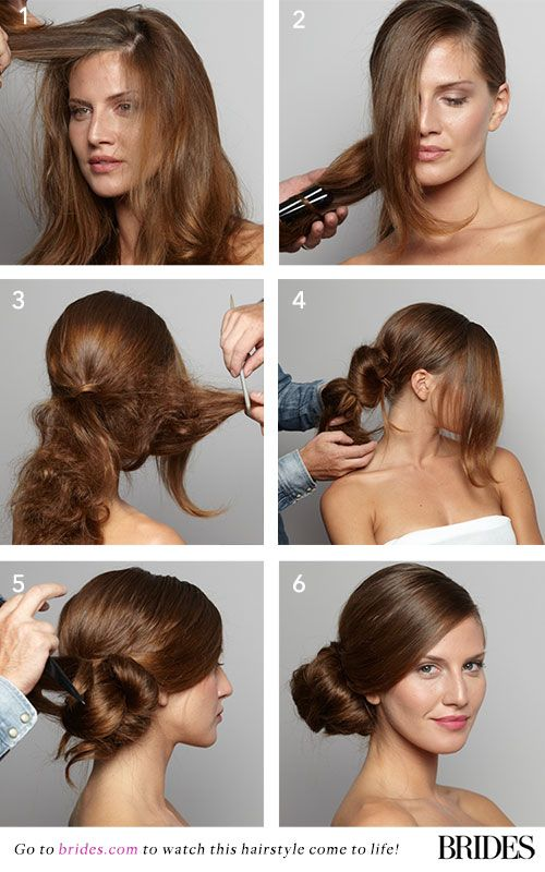 Wedding Hairstyle 101 How To Diy A Side Bun