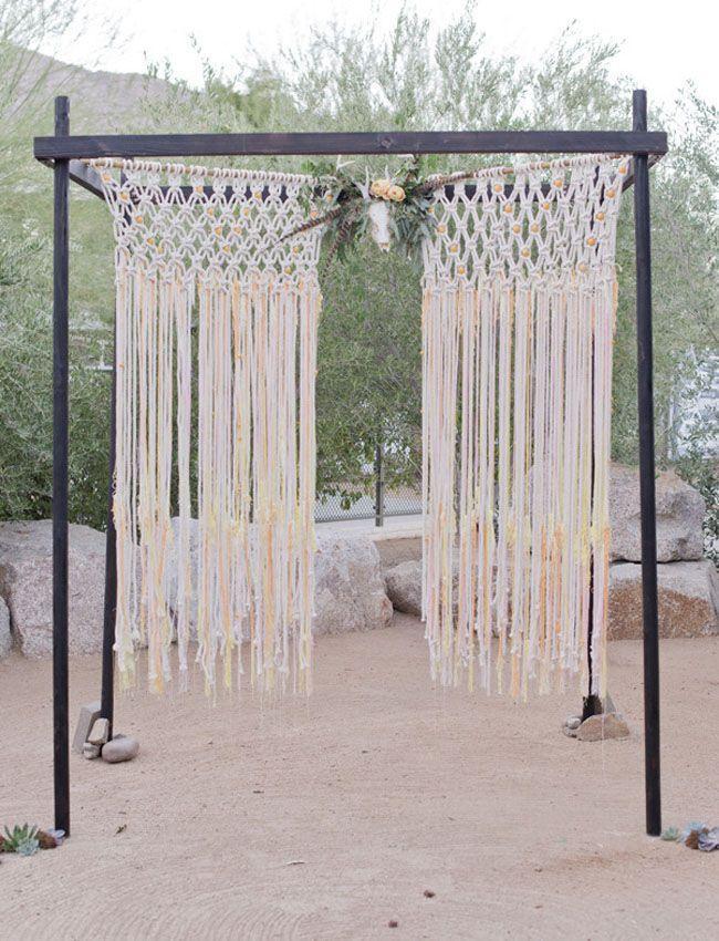 Mariage - Light-Drenched Desert Wedding: Briana   Jason