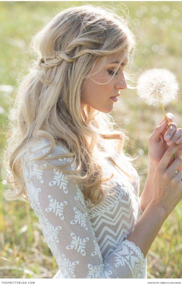 Свадьба - Natural Bride Inspired Shoot
