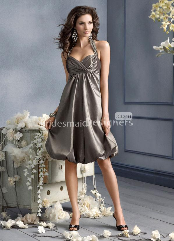 Silver wedding silver bridesmaid dresses gown 2168541 for Silver wedding dresses for bridesmaids