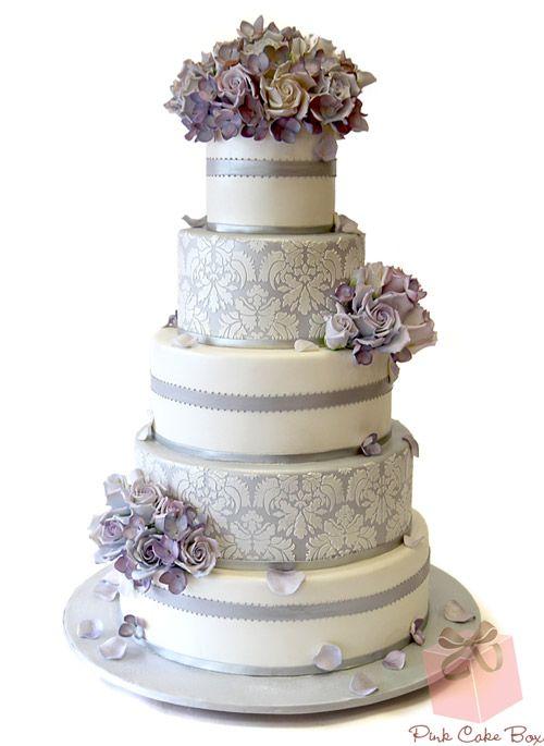 زفاف - Marvelous Metallic Cakes For Every Occasion » Pink Cake Box