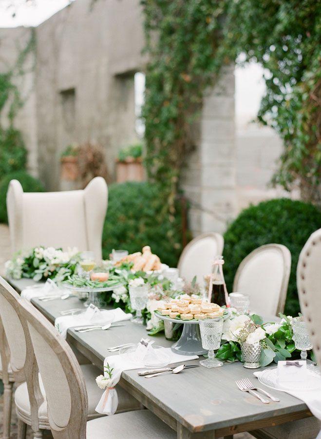 Hochzeit - Garden Tablescapes