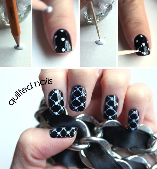 Легкие дизайны ногтей фото