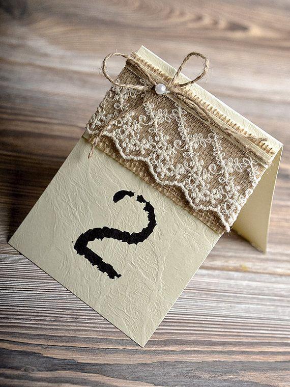 زفاف - ♥~•~♥ Wedding ►  Escort / Seating Card