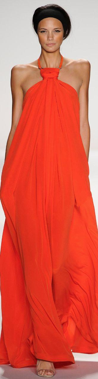 Wedding - Gowns....Orange Obsessions
