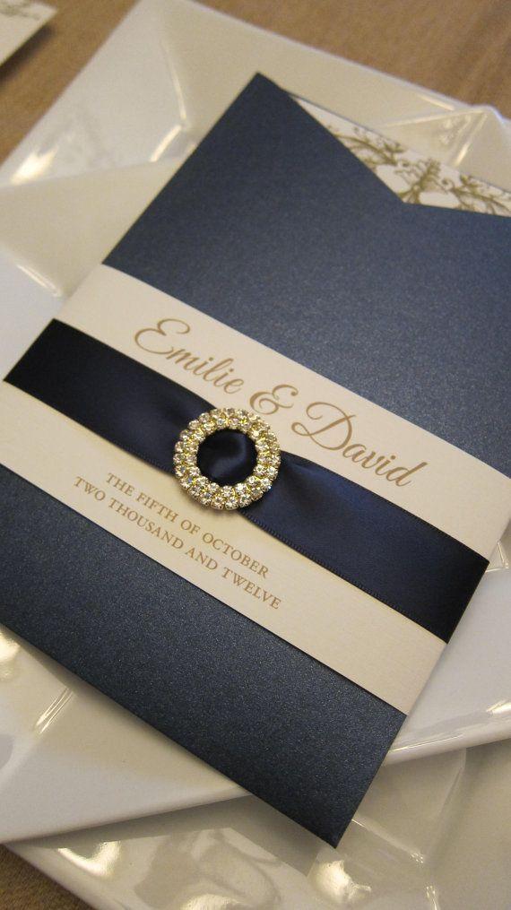 Elegant Weding Invitations With Crystals 010 - Elegant Weding Invitations With Crystals
