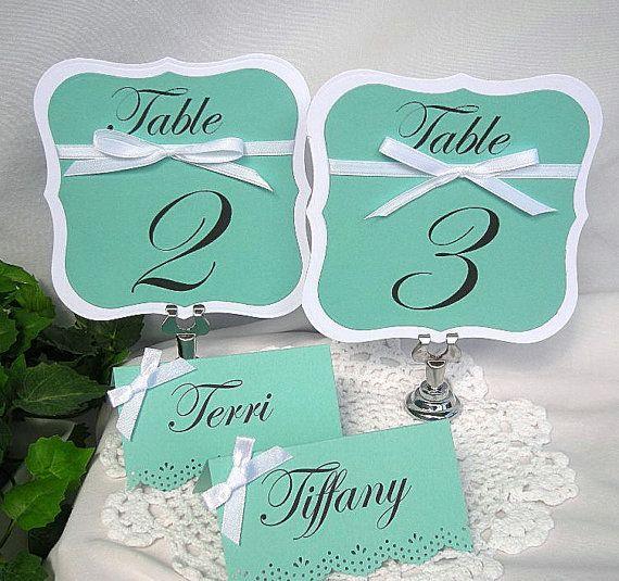 Hochzeit - ♥~•~♥ Wedding ►  Escort / Seating Card