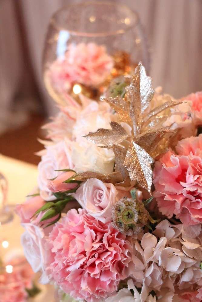 Wedding - Pink & Gold Birthday Party Ideas