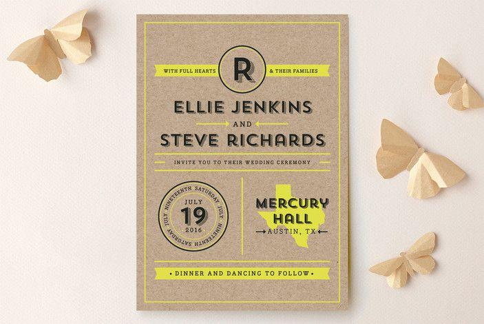 Hochzeit - INVITATIONS & SAVE THE DATE