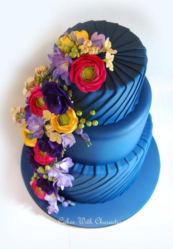 Hochzeit - Goddess Blue