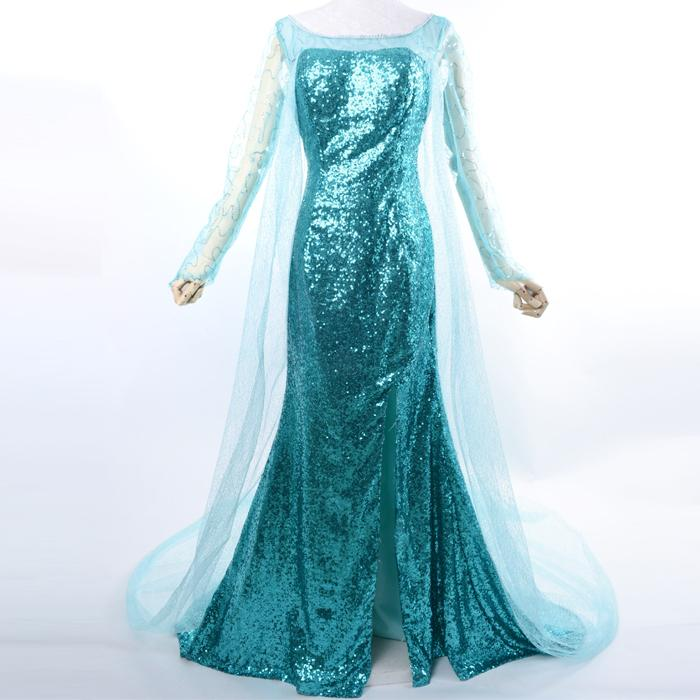 زفاف - Frozen Queen Elsa Dress Online Sale