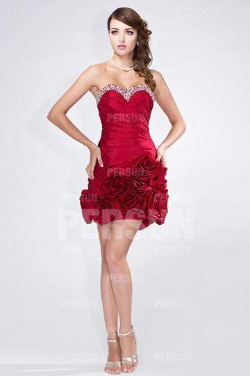 زفاف - Congleton New Taffeta Sweetheart Cocktail Gown