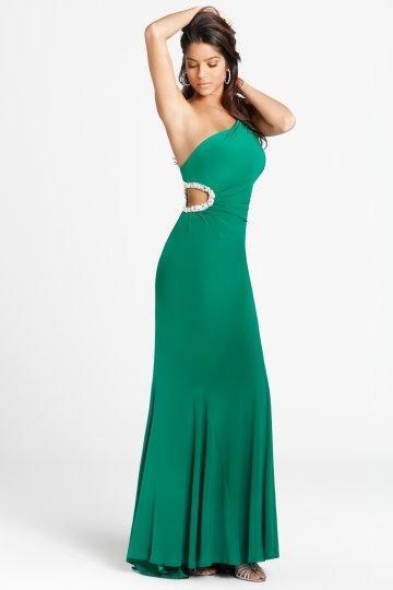زفاف - Fleetwood Cut Out Full length Prom Dress