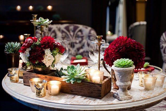 زفاف - Garden Tablescapes